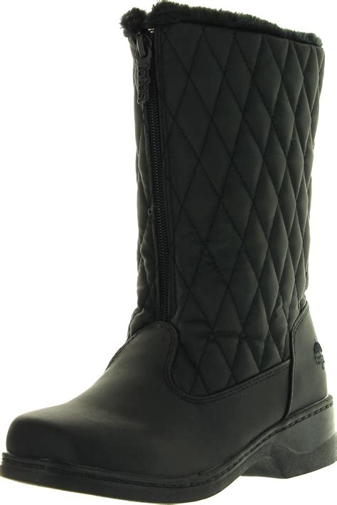 totes waterproof womens boots totes womens quilty fashion waterproof snow boots ebay