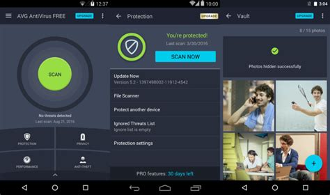 free avg for android 8 best free antivirus for android 2018 stop credit card theft with safe banking