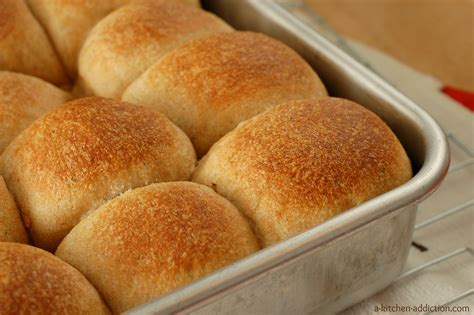the rolls herbed wheat dinner rolls a kitchen addiction