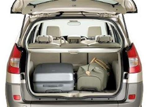 renault grand scenic luggage capacity renault scenic pictures images photos carvet info
