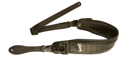 most comfortable guitar strap gibson unveils new deluxe comfort straps