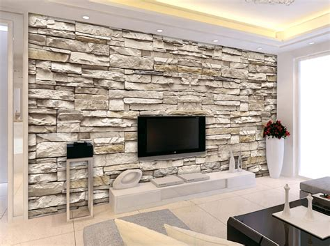 wall pattern for living room 3d stone brick wall pattern european minimalist modern