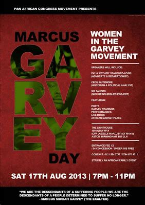 marcus garvey death the discussion in death i shall be a terror to the foes