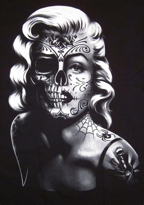 marilyn monroe skull tattoo designs marilyn skull 10 marilyn skull posters
