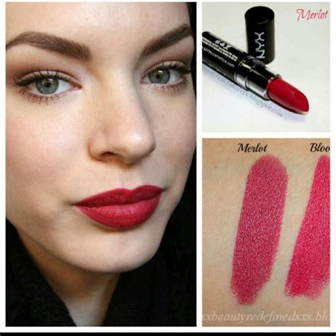 Nyx Matte Lipstick Lipstik Matte 2 100 nyx other nyx matte lipstick in merlot mls16