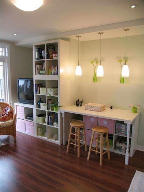Ikea Arbeitszimmer Tisch by Arbeitszimmer Tisch Und Kallax Neue Wohnung