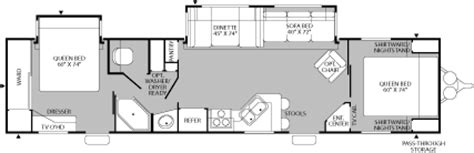 fleetwood terry travel trailer floor plans 2005 fleetwood terry travel trailer rvweb com