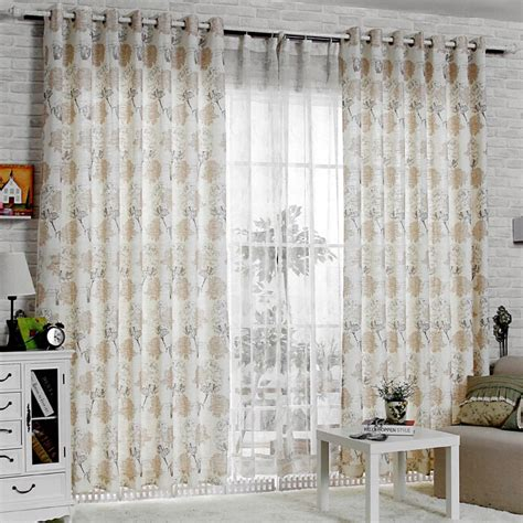 elegant living room curtains romantic rose printed pattern elegant living room curtain