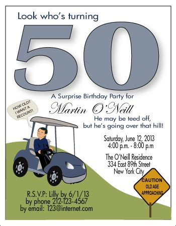 golf themed birthday quotes funny 50th golf birthday invitations golf theme 50th