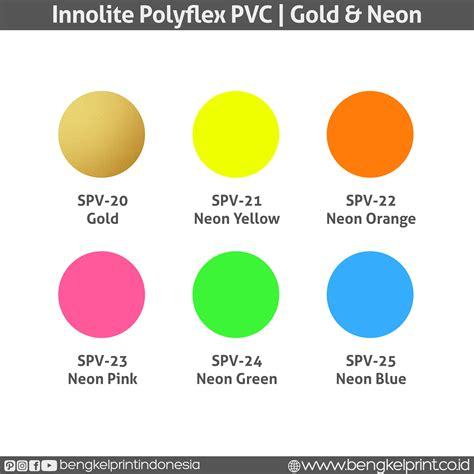 Polyflex Korea Pvc Gold Ep20 jual polyflex pvc buatan korea bengkel print indonesia