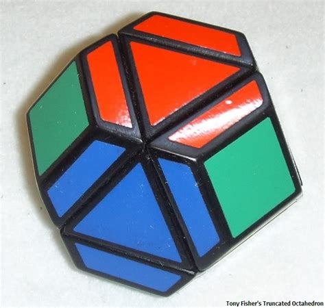 Rubik Octahedron tony fisher s truncated octahedron rubik s cube type