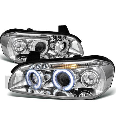 2000 nissan maxima headlight 2000 2001 nissan maxima led projector headlights chrome ebay