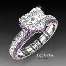 purple wedding rings a wow the most beautiful amethyst engagement ring you