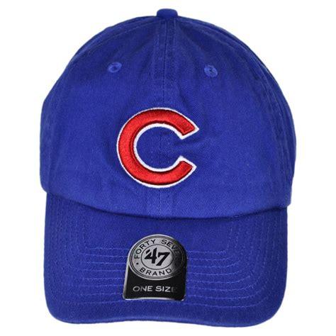 47 brand chicago cubs mlb clean up strapback baseball cap