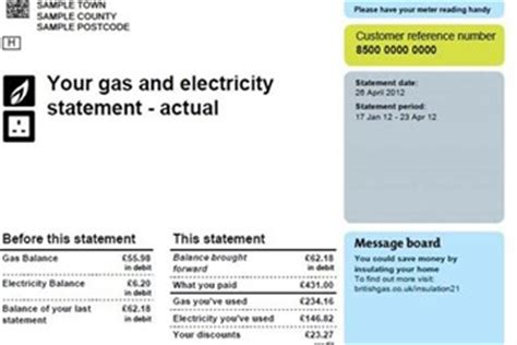 utility bill template uk the best and worst energy bills