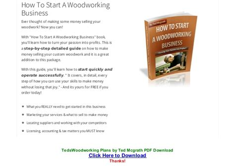 teds woodworking pdf teds woodworking plans by ted mcgrath pdf