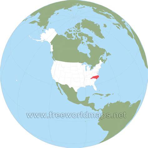 world map carolina carolina maps