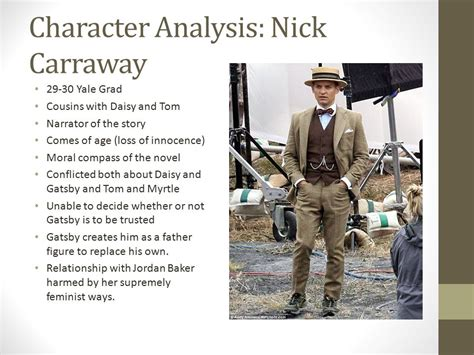 character analysis the great gatsby jordan the great gatsby f scott fitzgerald ppt video online