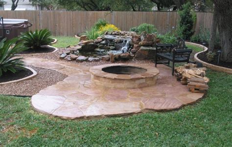 Concrete Patio Ideas With Pit concrete patio ideas with pit images landscaping gardening ideas