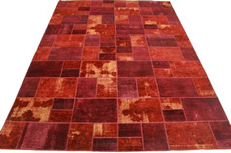 Teppiche 4x3m by Patchwork Teppich Rot In 400x300cm 1001 1847 Bei