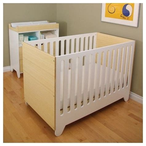 Modern Convertible Crib Hiya Convertible Crib Modern Cribs