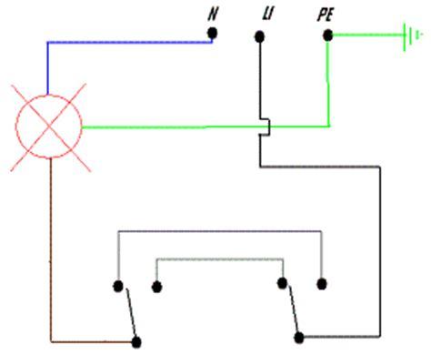 lada comandata da due punti accendere la luce da due punti deviata