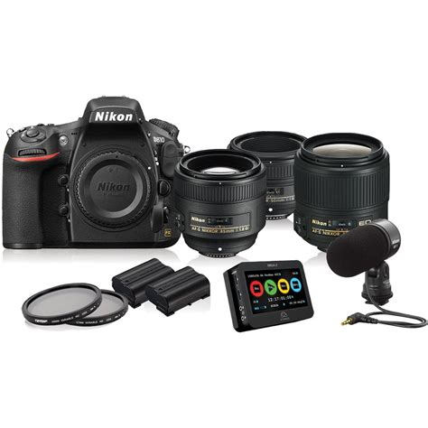 nikon d810 dslr filmmaker s kit 13456 b h photo