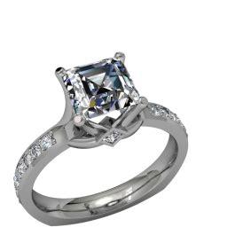 diamonds tremonisha semi mount square 18k