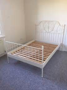 Timber Bed Frame Gumtree Ikea Leirvik Bed Frame 140x200cm In Clapham