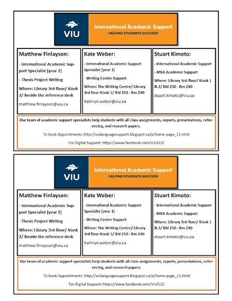 Viu Mba Calendar by Viu International Academic Support Home Page