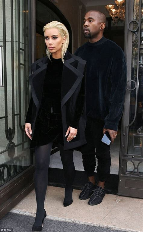 kim kardashian blonde hair daily mail kim kardashian jokes about kanye west loving blonde hair