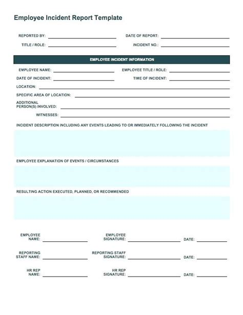 report forms template child care report