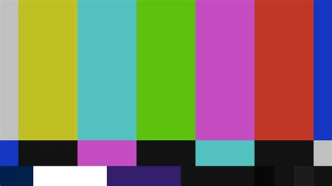 when did tv get color the origin of color bars on tv and other standard test files