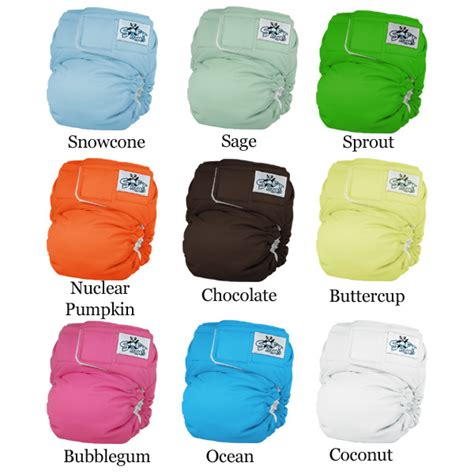 bumgenius color chart bumgenius color chart bumgenius one size snap closure