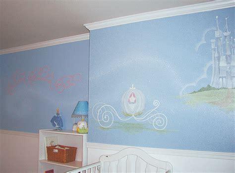 cinderella bedroom ideas cinderella s carriage nursery mural