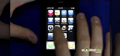 how to fix a sticking home button on the iphone 3g