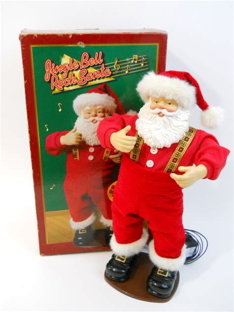 christmas decoration jingle bell rock animated dancing