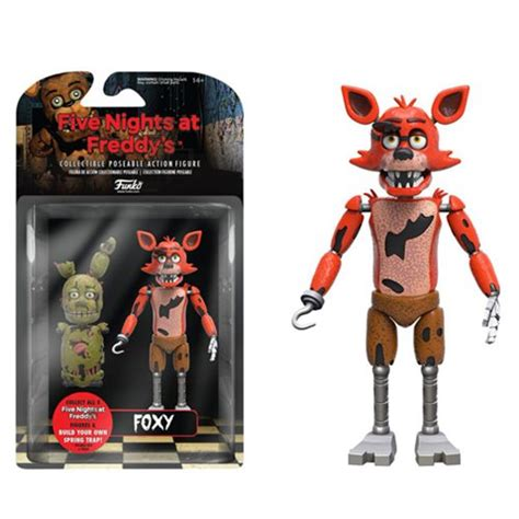 five nights at freddy s figures five nights at freddy s foxy 5 inch figure funko