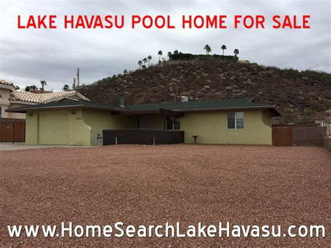 lake havasu pool home for sale