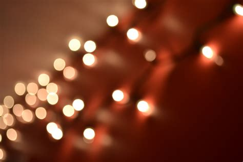 Hanging Christmas Tree by Spiritus Capere Photography Bokeh