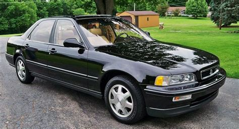 1991 acura legend with only 9 000 stolen from dealer