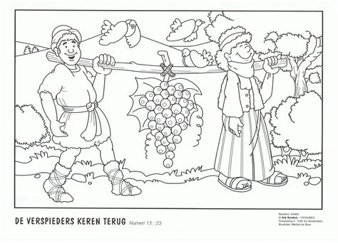 joshua coloring pages giants in the land coloring pages