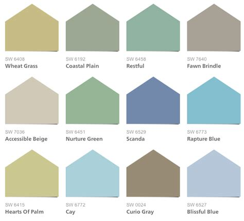 coastal cool paint colors intentional designs