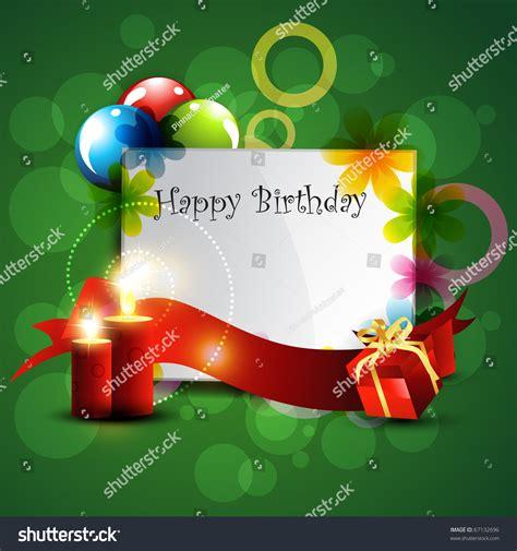 happy birthday beautiful design stylish beautiful happy birthday design stock vector