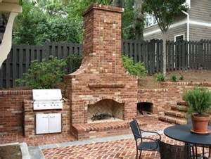 outdoor fireplace and grill the world s catalog of ideas
