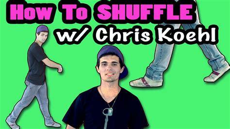 tutorial dance lmfao how to shuffle shuffling dance tutorial w d8chrisk