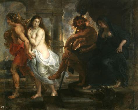 love themes in greek mythology file orpheus and eurydice by peter paul rubens jpg