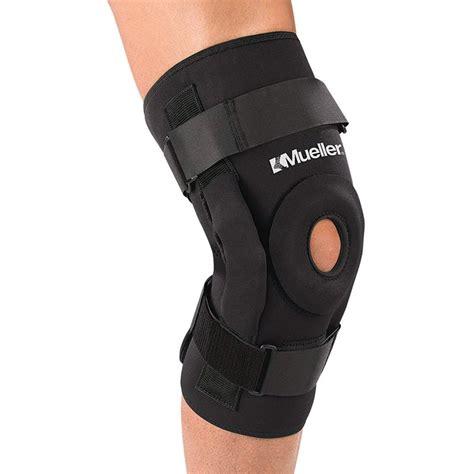 Knee Support Ligament knee brace mueller hinged wraparound knee brace lite