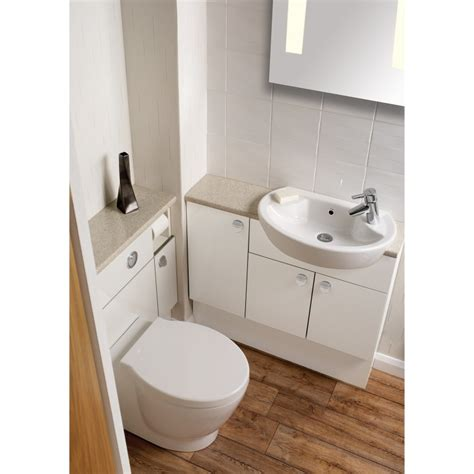 fitted bathroom furniture white gloss ellis ikon gloss white ellis from homecare supplies uk