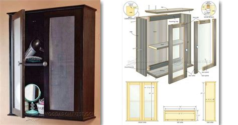 Bathroom Wall Cabinet Woodworking Plans 28 Images